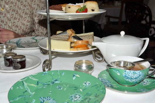 Tea Service at the King Edward Hotel