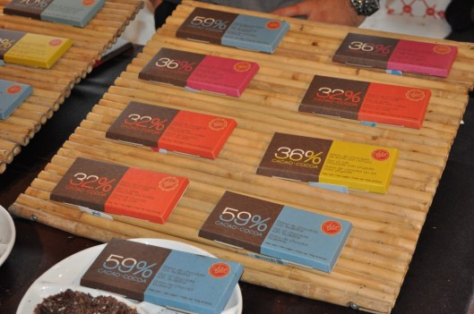 The Astor Chocolate display