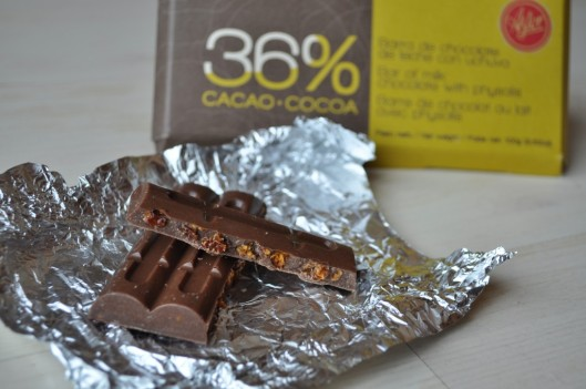 Astor milk chocolate with uchuva