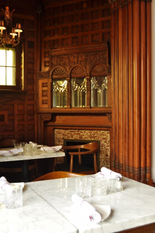 Interior of Osteria dei Ganzi