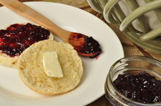 Butter and jam optional--but delicious