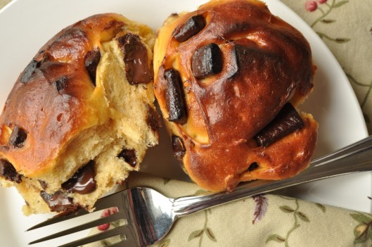 Sweet Potato-Chocolate Buns