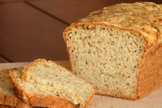 Beer Bread with Gruyere, Thyme, and Dijon