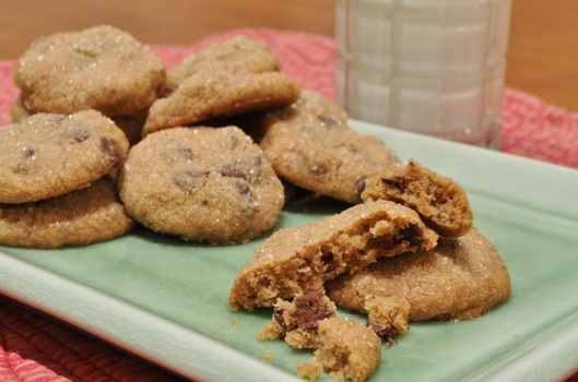 Espresso Cinnamon Chip Cookies from Fine Cooking Chocolate