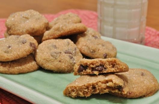 Espresso Cinnamon Chip Cookies