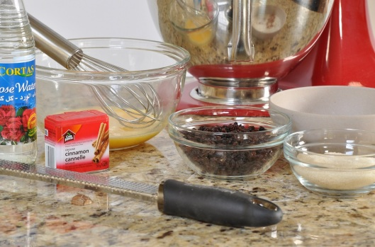Ingredients for Currant Cakes