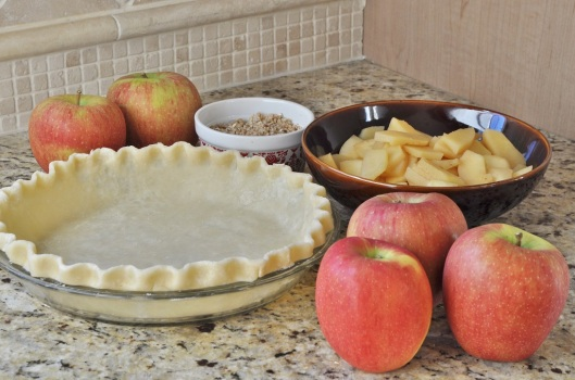 Ingredients for Quince-Apple Pie