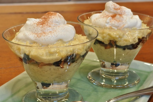 Rice Pudding Parfaits