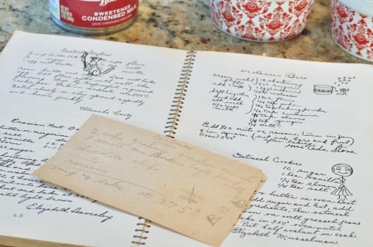 An Old Recipe Card