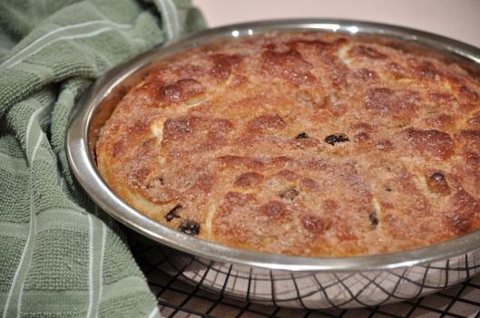 Cinnamon-Raisin Focaccia, Warm From the Oven
