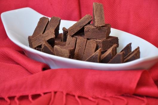 Cocoa-Molasses Fudge