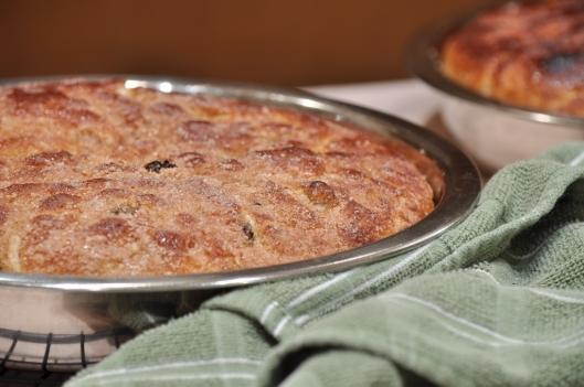 Freshly-Baked Cinnamon Raisin Focaccia
