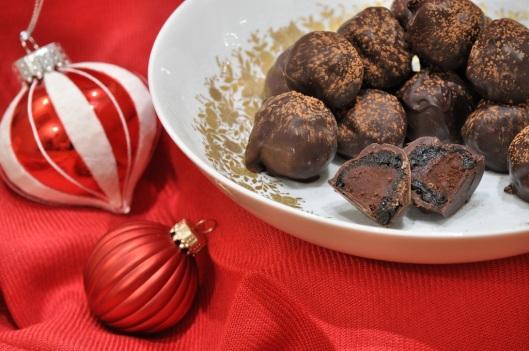 Grand Marnier-Prune Truffles
