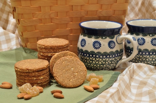 Ginger-Almond Biscuits