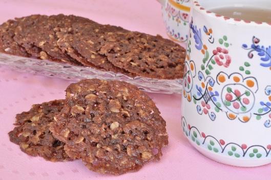 Cocoa-Caraway Oat Crisps