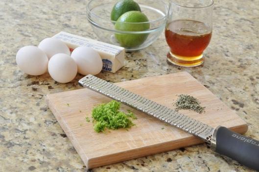 Prep for Rosemary-Lime Zeppole