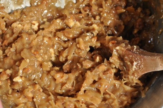 Eggless Coconut-Pecan Frosting