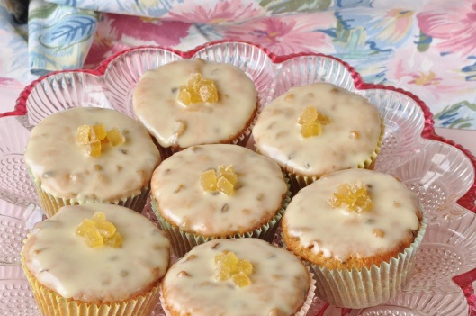 Simnel Cupcakes for Mothering Sunday
