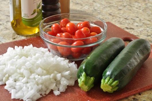 Vegetables for Farmhouse Tarts