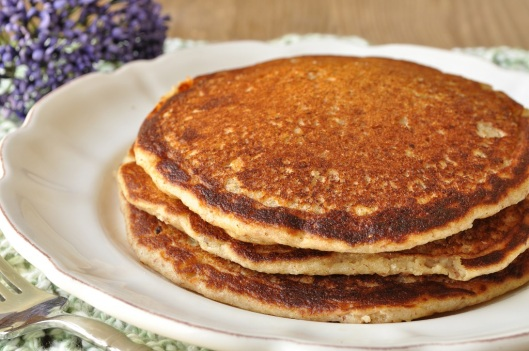 Almond-Spelt Pancakes