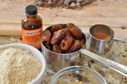 Dates, honey, and orange blossom water