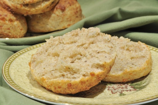 A Flaky Cheddar-Sage Biscuits