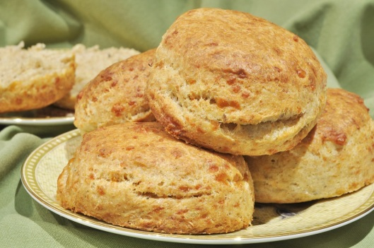 Cheddar-Sage Biscuits | The Lass In The Apron