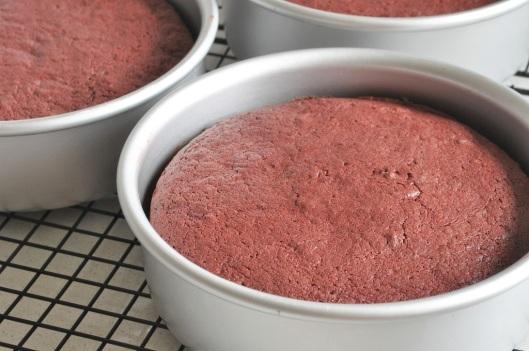 Freshly Baked Chocolate-Beet Cake