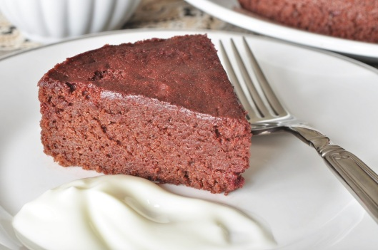 Moist and Mousselike Chocolate-Beet Cake