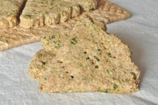 Savory-Sage-Rosemary-Thyme Oatcakes