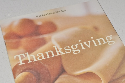 Williams-Sonoma Thanksgiving