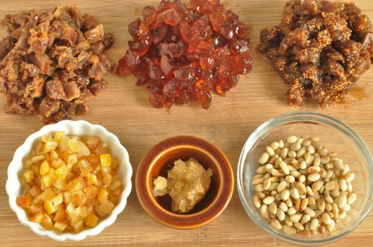 Dried Fruits for Panforte