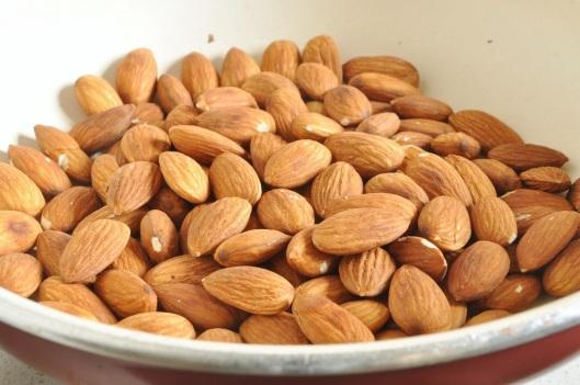 Dry Toasting Almonds