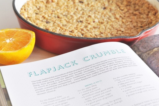 Jamie Oliver's Great Britain--Flapjack Crumble