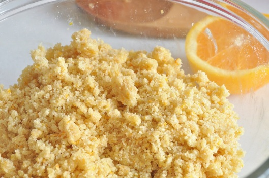 The Orange Crumb Topping