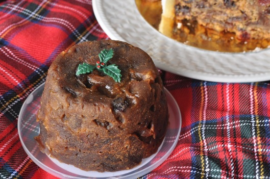 A Gluten-Free Christmas Pudding with Rum