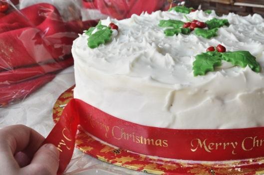 A Proper British Christmas Cake