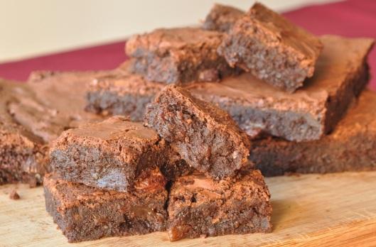 A Taste of Dreams  Sultana-Amaretto Gluten-free Brownie