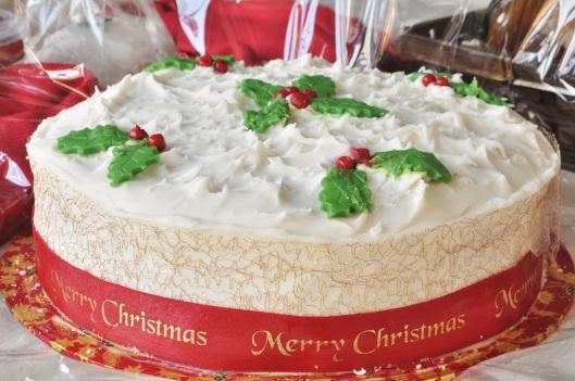 Carrot Cake Company Christmas Cake