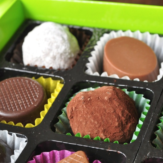 Dark Chocolate Calvados Truffle