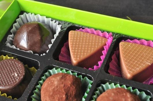 Milk Chocolate-Raspberry Truffle