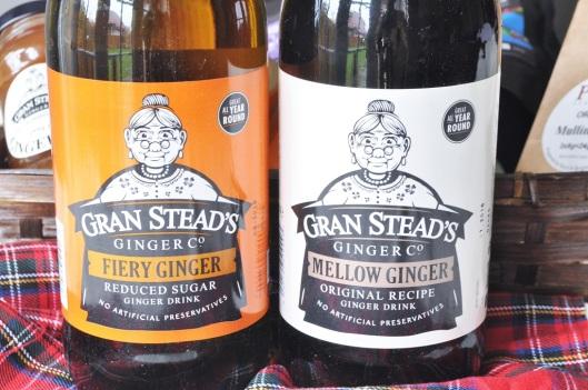 Gran Stead's Ginger Drinks