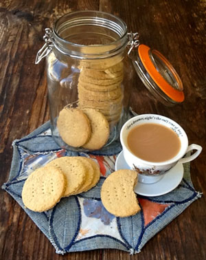 Healthy Digestive Biscuits--Tales from the Kitchen Shed