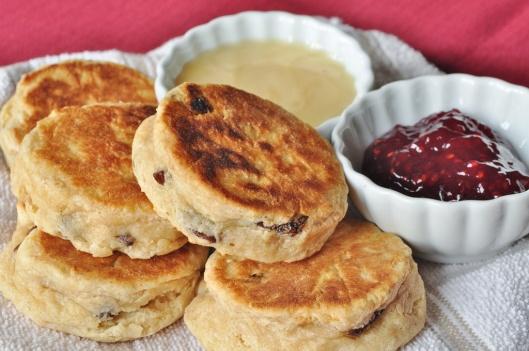A Plate of Finished Scones