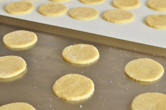 Shortbreads ready for baking