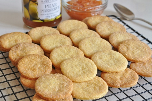 The Rose-Cornmeal Shortbreads
