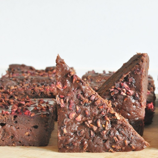 Diabetic Raspberry Brownies