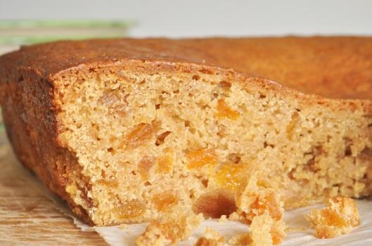 Vegan Apricot-Ginger Cake