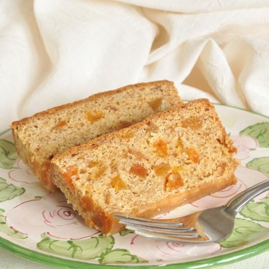Vegan Apricot Snack Cake